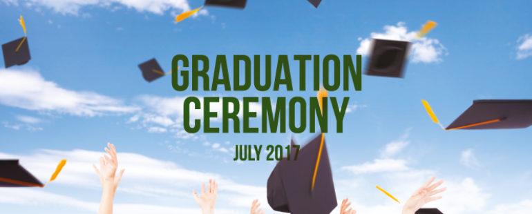 Graduation Celebration July 2017