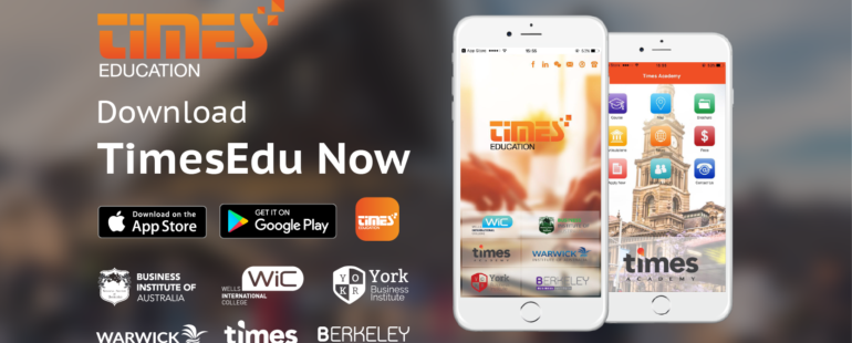 TIMESEDU APP IS NOW AVAILABLE IN APP STORE AND GOOGLE PLAY